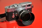 Leica M3 with Canon 50mm f1.4 LTM